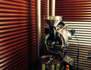 Gas Fitting Coffee Roaster